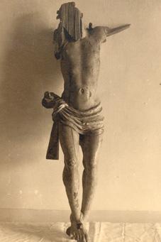 Cristo crucificado mutilado