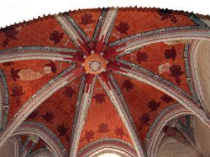 Bóveda de la Capilla de los Francos