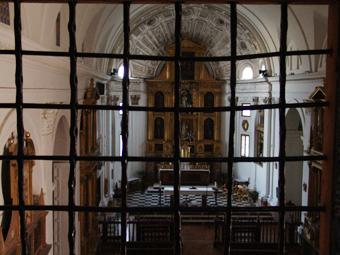 Panorámica de la Iglesia vista desde el Coro Alto