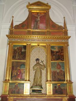 Altar de San Francisco