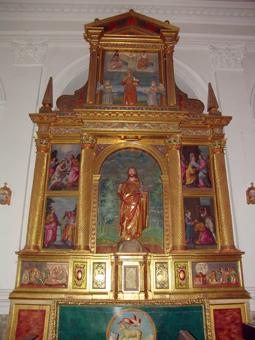 Altar de San Juan Bautista