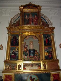 Altar de San Juan Evangelista