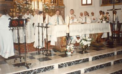 Santa Misa de acción de gracias