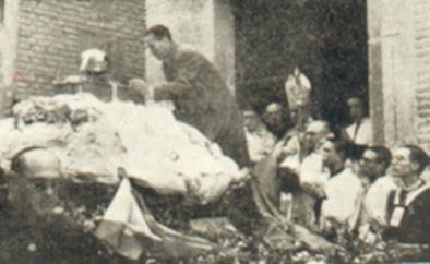 Traslado de las Reliquias tras la Guerra Civil