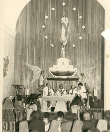 Santa Misa en la Capilla de la Santa Madre