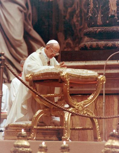 Santa Misa de Canonización, el 3 de octubre de 1976
