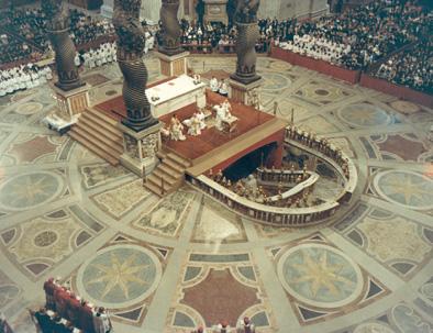 Santa Misa de Canonización, el 3 de octubre