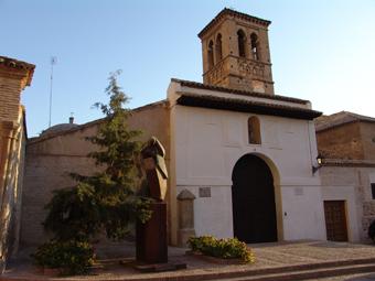 Puerta de acceso a la Iglesia