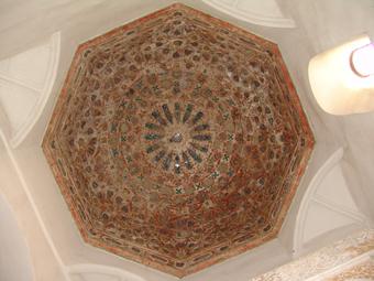 Cúpula de cerámica de la capilla de San Jerónimo